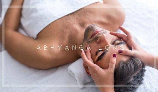 Massage Abhyanga long du corps